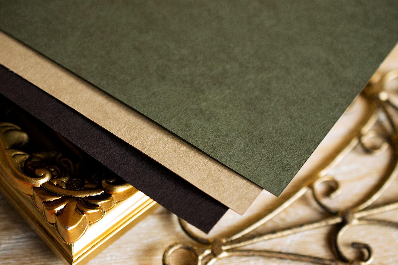 ウェルカムボード 紙質 素材