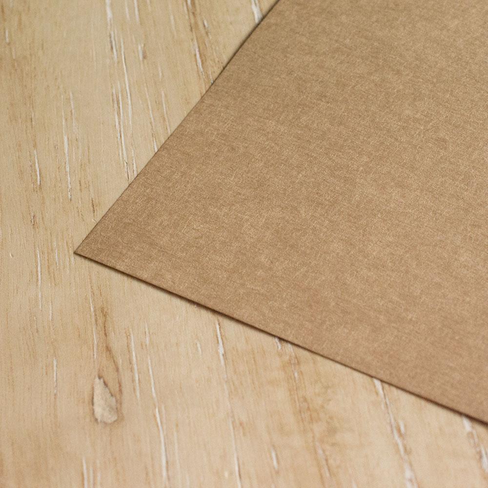 手作り席次表 用紙 クラフト紙拡大画像